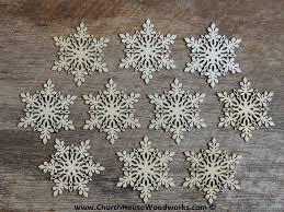 wooden christmas ornaments star snowflake stocking christmas