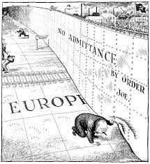 Winston Churchill Iron Curtain Speech Cartoon By Illingworth On Winston Churchill U0027s Address In Fulton