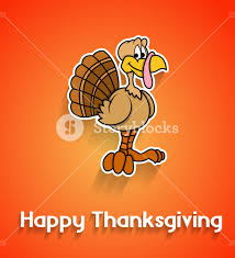 happy turkey thanksgiving day template royalty free stock image