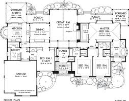 single story house floor plans luxury floor plans one story homes zone