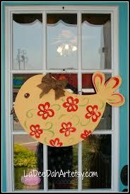 Door Hanger Design Ideas 273 Best Wooden Door Hangers Images On Pinterest Wooden Doors