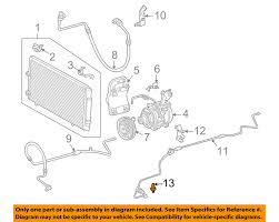 97 lexus lx450 ac compressor toyota oem air conditioner pressure cut off switch 8864560030 ebay