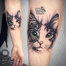 tattoo cat floral cat tattoo design beautiful cats design color and tattoo