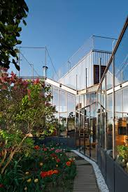 architecture garden nantes home by mabire reich architects
