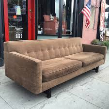 mid century style sofa style and grace classic mid century style sofa by room board