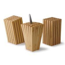 Knife Blocks by Split Bamboo Knife Block So That U0027s Cool