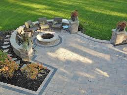 paver fire pit designs moscarino outdoor creations