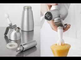 cuisine siphon technique de cuisine utiliser un siphon avec un produit gélifié