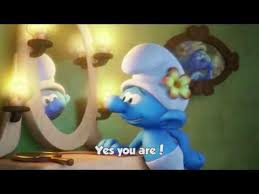 special message vanity smurf