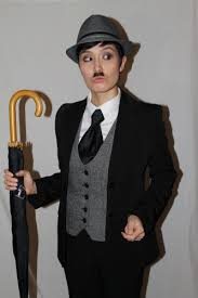 Halloween Costumes Figured Women Charlie Chaplin Costume Idea Women Charlie