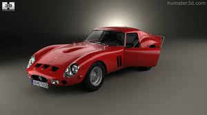 Ferrari California 1962 - 360 view of ferrari 250 gto series i with hq interior 1962 3d