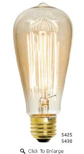 early electric bulb 5430