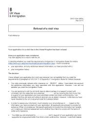 Employment Letter For Visa Uk uk visa refusal due to misinterpretation travel stack exchange