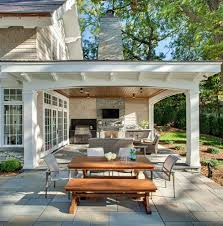 manufactured wood outdoor patio traditional with outdoor fireplace