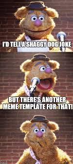 Dog Jokes Meme - fozzie jokes referencing bag pun dog imgflip