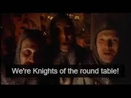 monty python knights of the round table album on imgur