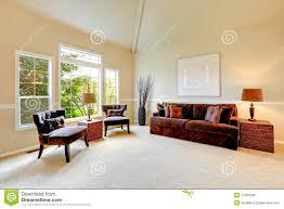 living room with vaulted ceiling bright ivory living room with high vaulted ceiling and french wi