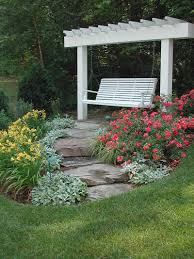 best sloped backyard landscaping ideas only photo amazing garden