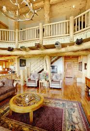 Beautiful Log Home Interiors Beautifully Natural Log Home Interiors