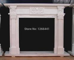 popular fireplace marble mantels buy cheap fireplace marble