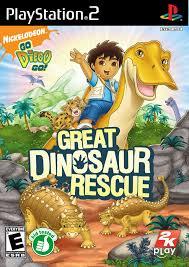 diego dinosaur rescue sony playstation 2 game