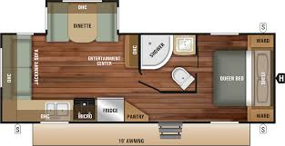 expandable camper floor plan 2018 launch outfitter 24rls