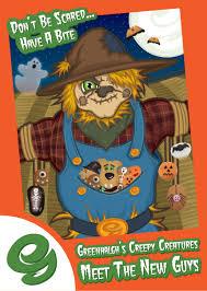 halloween background characters ben latham illustration