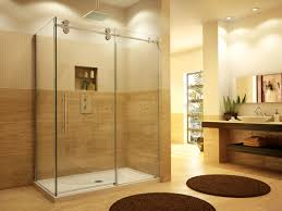 stylish two sided shower door by fleurco kinetik collection
