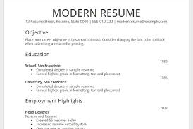 Modern Resume Samples by Free Resume Templates Google Docs Modern 20 Useful Free Google