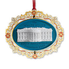anniversary christmas ornament 2000 white house christmas ornament 200th anniversary of the