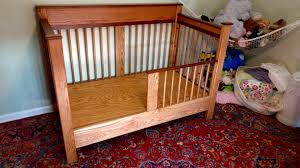 How To Convert Crib Into Toddler Bed Converted My Handmade Crib Into To A Toddler Bed Album On Imgur
