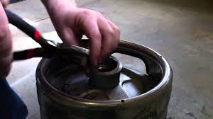 how to open and reassemble a sanke keg youtube