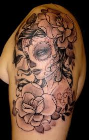 40 skull tattoos has meaning the sugar skull