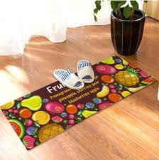 Apple Kitchen Rug Sets Fruit Rug Kitchen Rugs Strawberry Apple High Quality Handmade