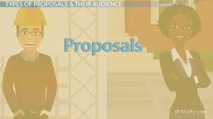 comparing different types of proposals video u0026 lesson transcript