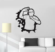 vinyl decal rap hip hop battle music teen room art wall stickers vinyl decal rap hip hop battle music teen room art wall stickers decor ig2785
