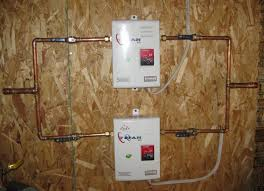 installing tankless water heater