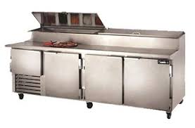 Refrigerated Prep Table by Leader Pt96 M 96