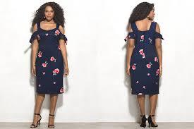 dress barn plus fashion find beyond by graham floral cold shoulder