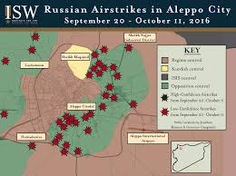 Map Of Russia And Syria by Isw Blog Russian Airstrikes In Syria September 13 October 11 2016