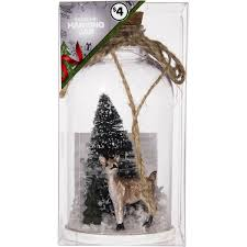 christmas woodland jar with filling each woolworths
