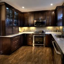 prefab cabinets kitchen modern with cork floor modern oak cabinets