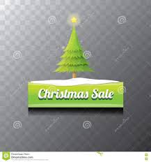 christmas vector green button with christmas tree stock vector
