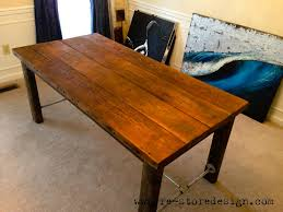 Diy Reclaimed Wood Desk White Reclaimed Wood Farm Table Diy Projects Household And