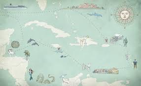 Map Of Roatan Honduras A Caribbean Vacation Map