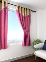 Single Window Curtain by Buy Cortina Pink Single Window Curtain Curtains And Sheers For