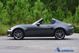 saab convertible green 2017 mazda mx 5 miata rf review u0026 test drive
