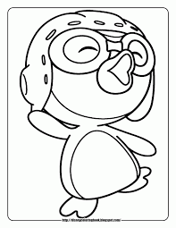 penguin printable coloring pages kids coloring