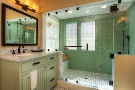 Craftsman Style Bathroom Lighting Great Arts And Crafts Decorating Ideas For Graceful Bathroom