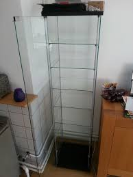 ikea glass display cabinet finally built my display cabinet followkman